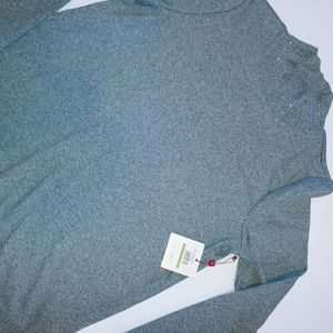 NWT Mock Turtleneck Sweater Top L